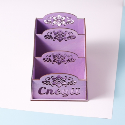 Коробка для хранения специй в3, цвет фиолетовый