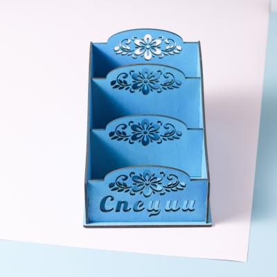 Коробка для хранения специй в3, цвет голубой