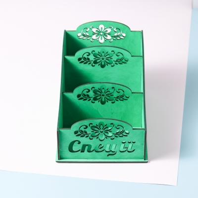 Коробка для хранения специй в3, цвет зеленый