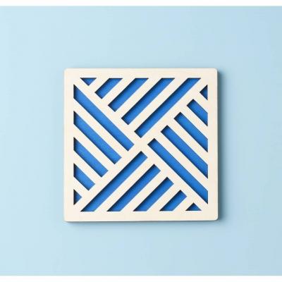 "Подставка под чашку. Костер квадрат. Дизайн ""Абстракция"""