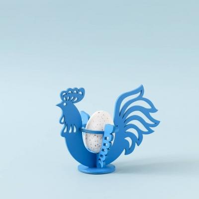 """Пасхальная подставка под яйца дизайн """"Петушок"""""""