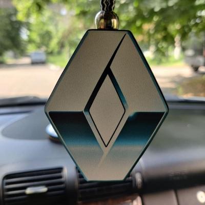 """Ароматизатор в машину из дерева, дизайн """"Логотип Renault"""""""