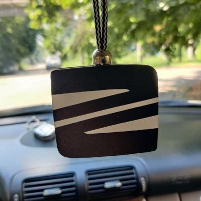 "Ароматизатор в машину из дерева, дизайн ""Логотип SEAT"""