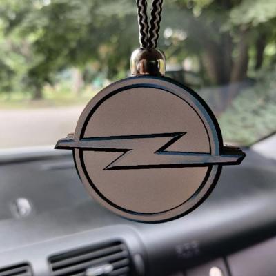 "Ароматизатор в машину из дерева, дизайн ""Логотип Opel"""
