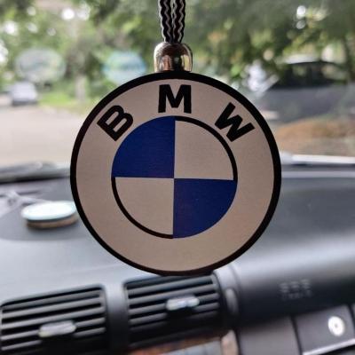 "Ароматизатор в машину из дерева, дизайн ""Логотип BMW"""