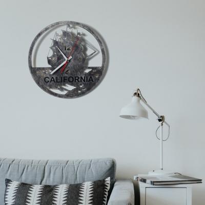 """Декор на стену. Настенные часы """"California"""""""