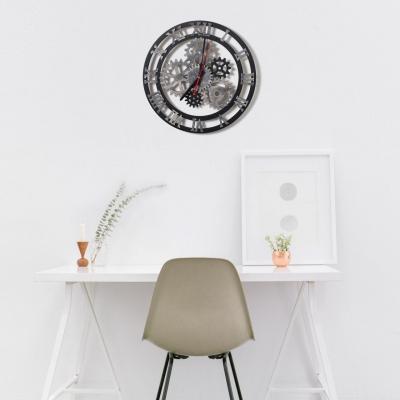 """Декор на стену. Настенные часы в стиле лофт """"Шестеренки"""""""