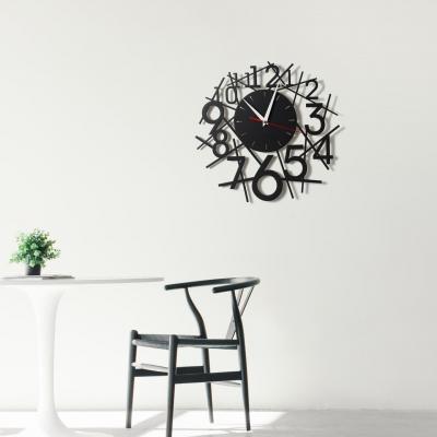 """Декор на стену. Настенные часы в стиле лофт """"Цифры лофт"""""""