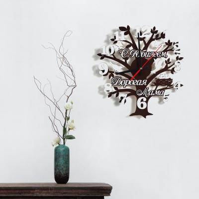 """Декор на стену. Настенные часы """"Дерево"""""""