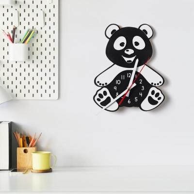 "Декор на стену. Настенные часы ""Панда"""
