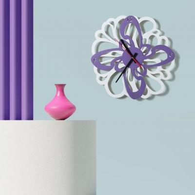 """Декор на стену. Настенные часы """"Необычный цветок"""""""