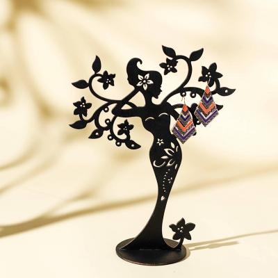 Подставка для бижутерии DomLazerа Девушка 2122 19*25см цвет черный (В наличии)