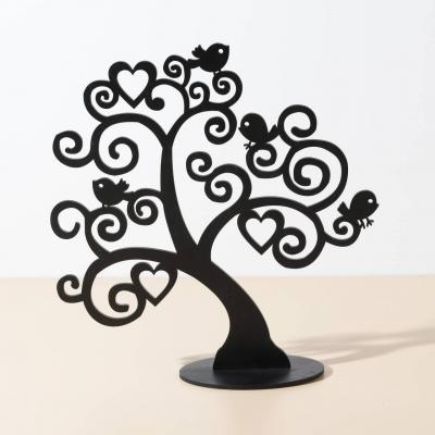 Подставка для украшений DomLazera Дерево с птичками 2130 26*27см цвет черный (В наличии)