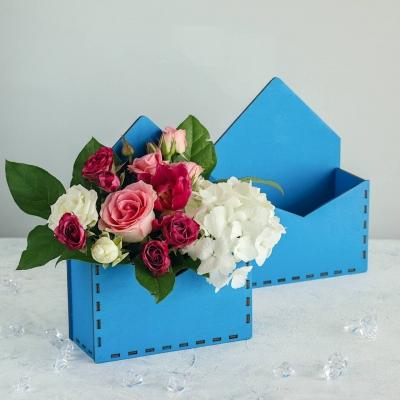 Кашпо для цветов конверт, корзинка для цветов
