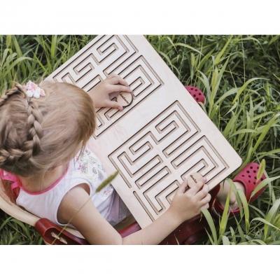 Межполушарные доски для детей  DomLazera Лабиринт 1009 40*25см без покраски (В наличии)