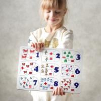 """Сортер-головоломка для детей """"Математическое сложение"""" UF"""