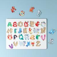 """Сортер-головоломка для детей """"Английский алфавит с силуэтом животных"""" UF"""