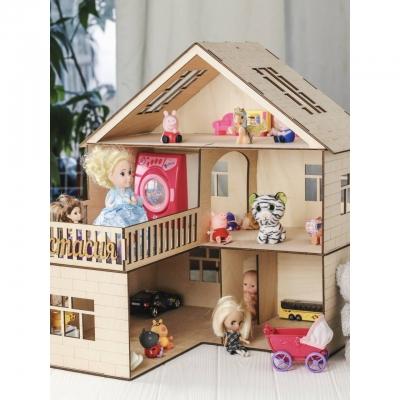 Домик для кукол из дерева