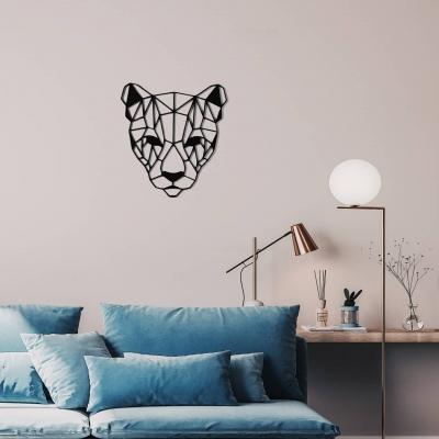 """Декор на стену. Панно на стену дизайн """"Пантера"""""""