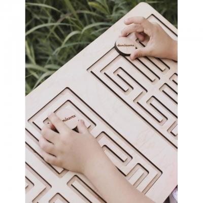 Межполушарные доски для детей в форме лабиринта