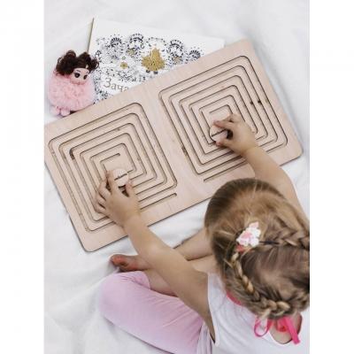 Межполушарные доски для детей DomLazera Квадрат 1008 40*25см без покраски (В наличии)