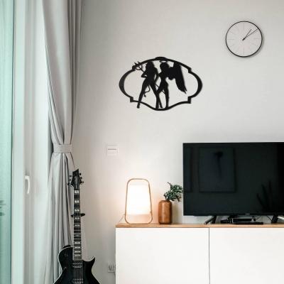 """Декор на стену. Панно на стену дизайн """"Ангел и Демон"""""""