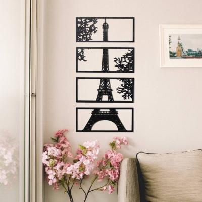 """Декор на стену. Набор панно на стену дизайн """"Эйфелева башня"""""""