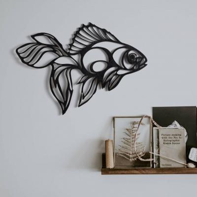 """Декор на стену. Панно на стену дизайн """"Рыбка"""""""
