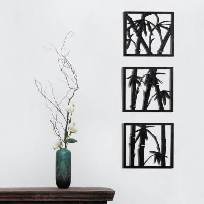 """Декор на стену. Набор панно на стену дизайн """"Бамбук"""""""
