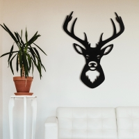 """Декор на стену. Панно на стену дизайн """"Олень"""" v1"""