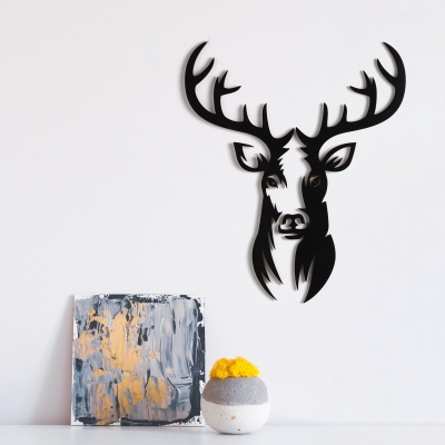 """Декор на стену. Панно на стену дизайн """"Олень"""" v2"""