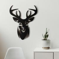 """Декор на стену. Панно на стену дизайн """"Олень"""" v3"""