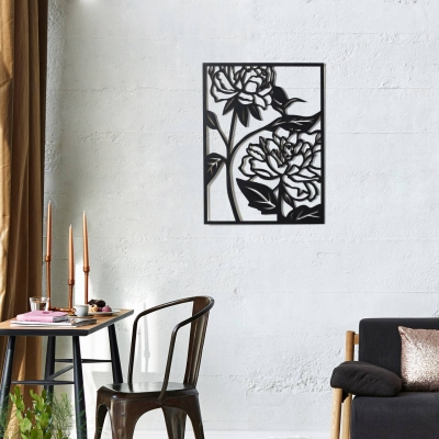 "Декор на стену. Панно на стену дизайн ""Цветы"""